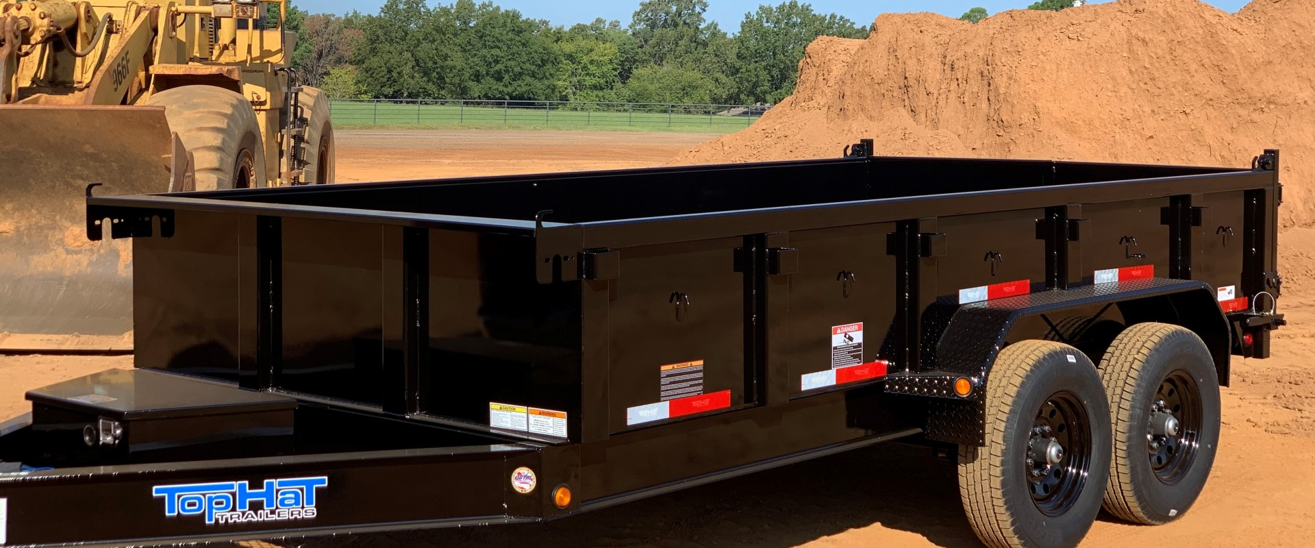Single Axle, Tandem, Utility - East Texas | Top Hat Trailers on